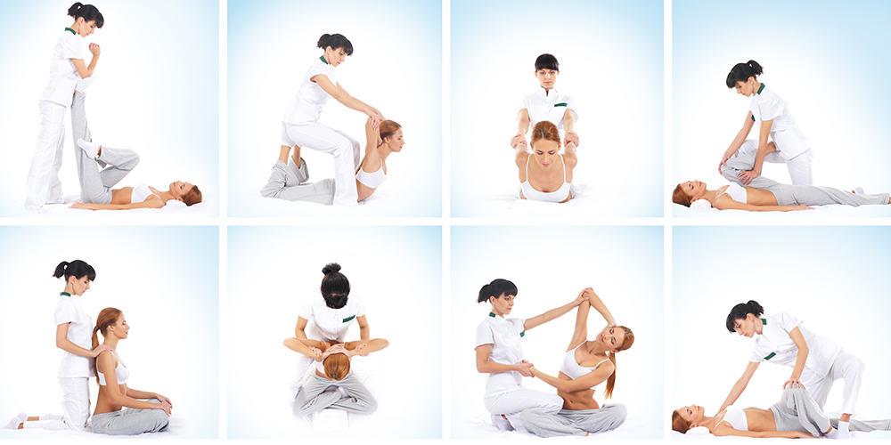 Physical fitness with Thai massage
